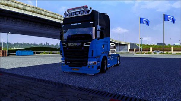 Scania V8 New Engine Sound