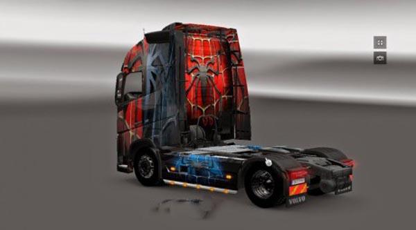 Volvo FH 2012 Spiderman Skin