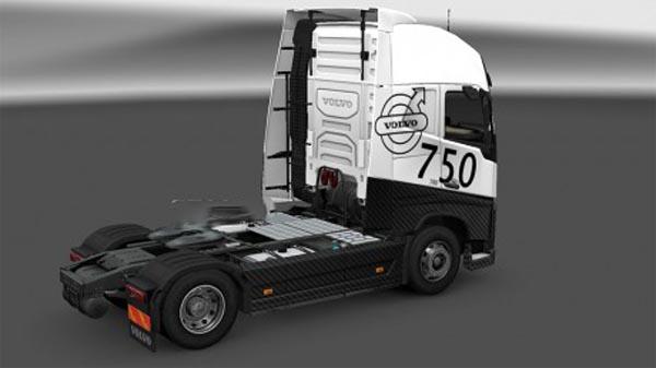 Volvo FH16 2012 carbonne skin