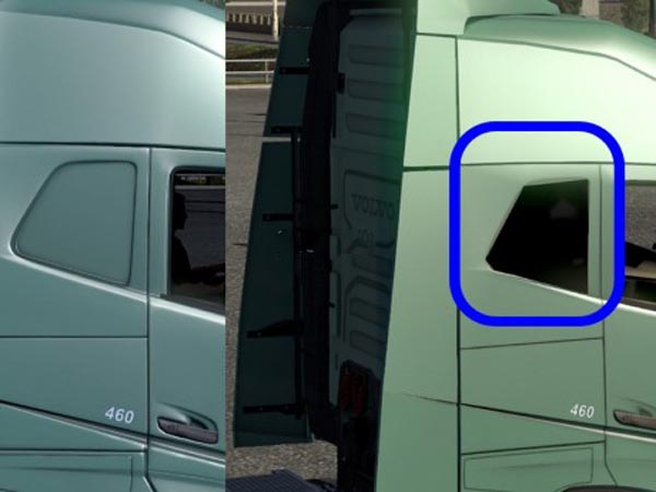 Volvo FH16 2012 dark window sleeper