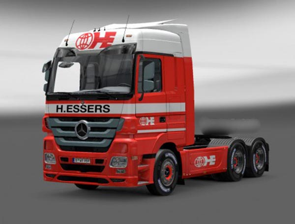 Actros H.ESSERS skin