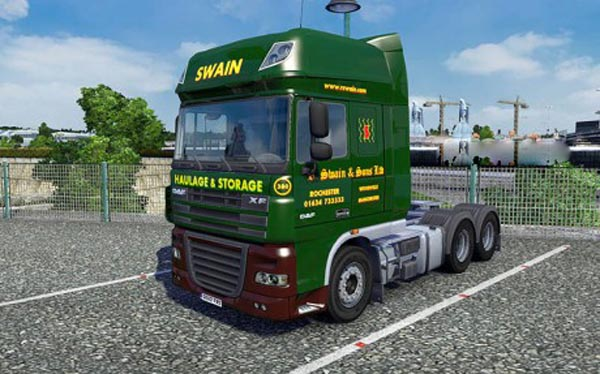 R Swain and Sons Skin For DAF