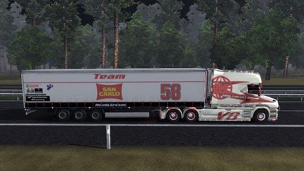 San Carlo Honda Simoncelli trailer