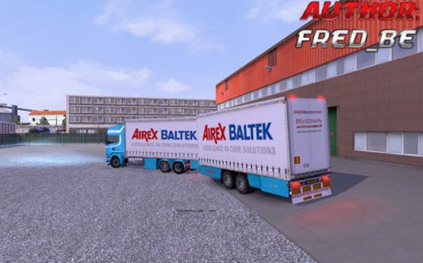 Scania Streamline ProfiLiner Tandem Airex