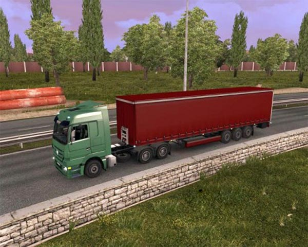 Simple Red Standalone Trailer
