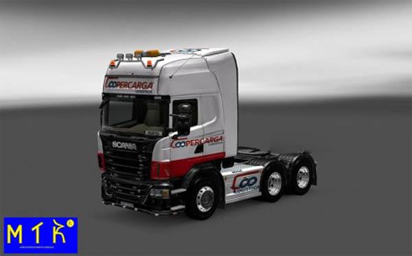 Skin Scania Coopercarga Logística