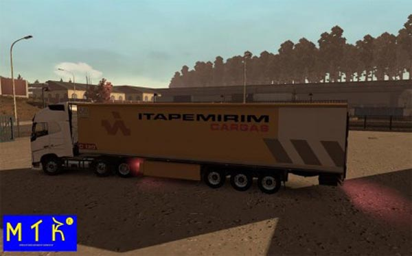 Trailer Itapemirim Cargas