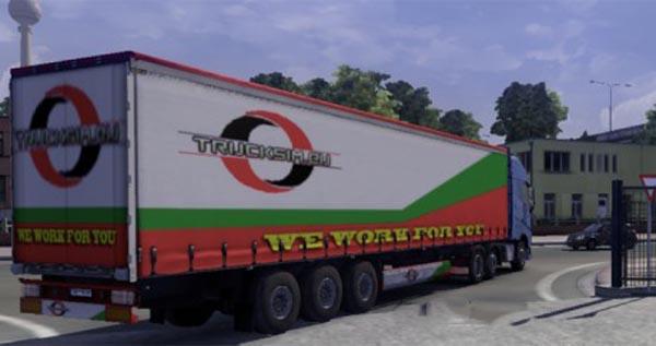 Trucksim Trailer Skin
