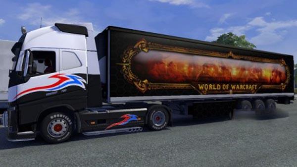 World of Warcraft Trailer Skin