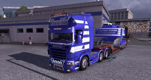 Scania Streamline T. van der Vijver Skin