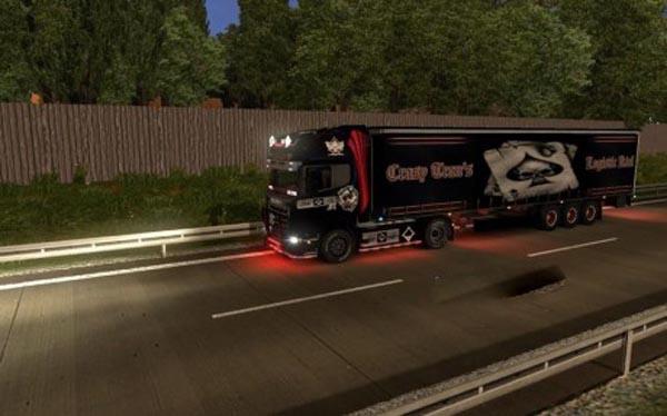 Crasy Trans Logistic Kiel Trailer
