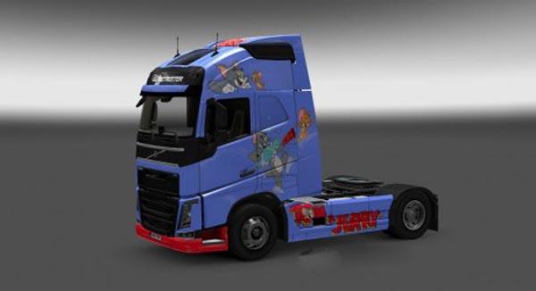 Volvo FH 2012 Tom & Jerry Skin