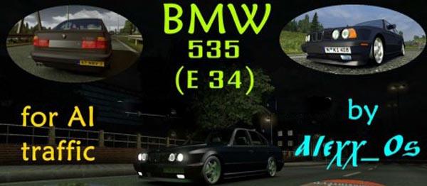 BMW E34 AI Traffic Car