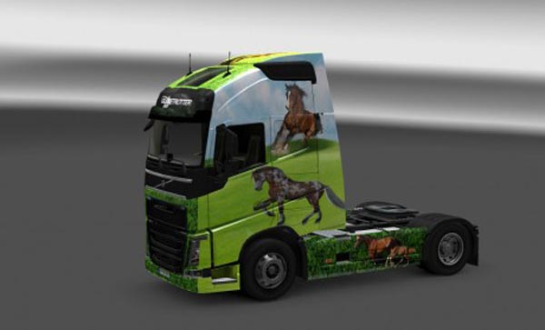 Horse skin for Volvo FH