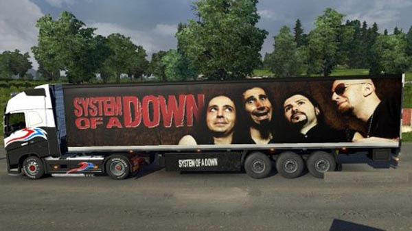 System Of A Down trailer
