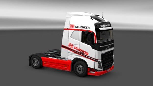 Volvo FH 2012 DB Schenker Skin