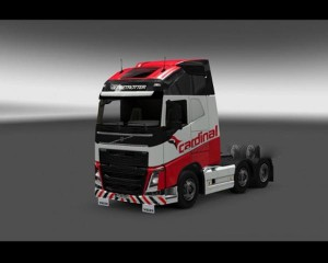 Cardinal skin for Volvo FH