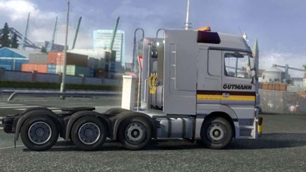 Mercedes Actros MP3 8×4 Heavy Haul Reworked