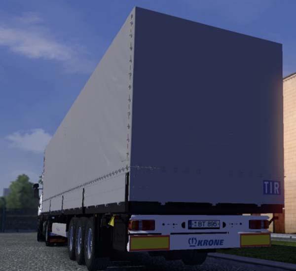 Scania 124L + Trailer