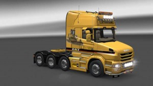 Scania T Caterpillar Skin