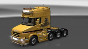 Scania T Caterpillar Skin