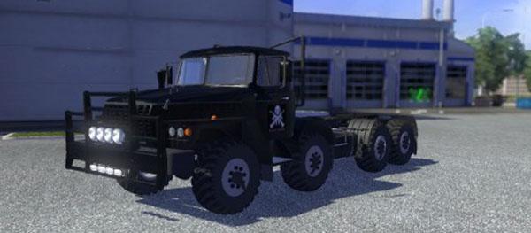 Ural 43202 Black Edition