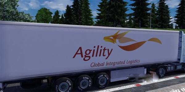 Agility Logistics Trailer