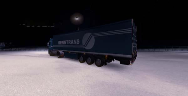 Benntrans Spedition Trailer