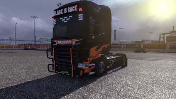 Black is Back skin