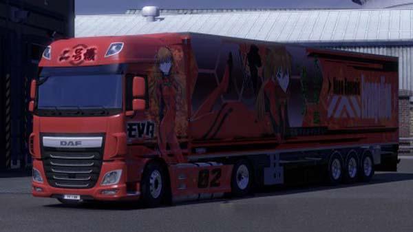 DAF XF Euro 6 Eva Combo Pack