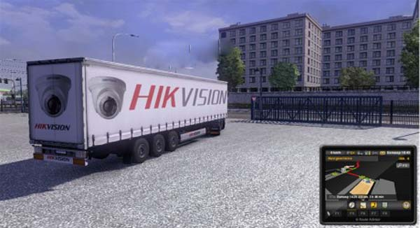 Hikvision Trailer Skin