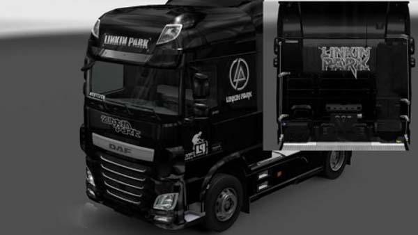 Linkin Park Daf Euro 6