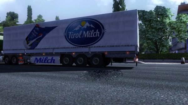 Milch trailer