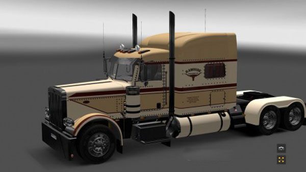 Peterbilt 389 Rawhide Trucking LLC Custom Skin