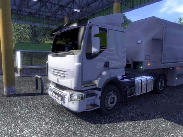 Renault Premium Tank Update