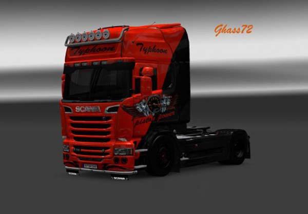 Scania Piston Power Skin