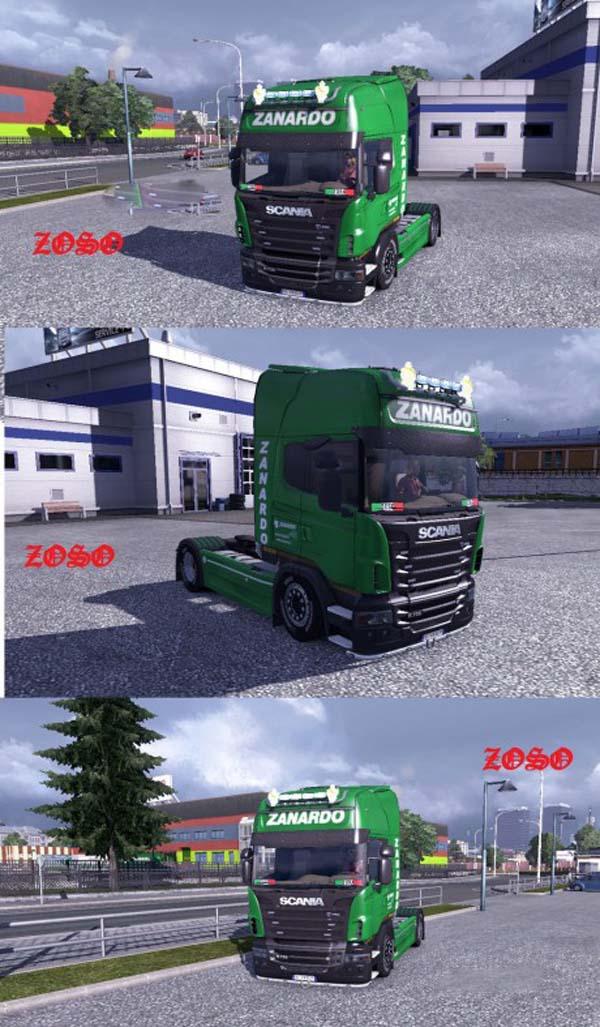 Scania R 2009 Zanardo Logistica Skin