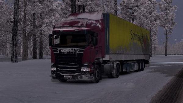 Scania Streamline Snow Skin