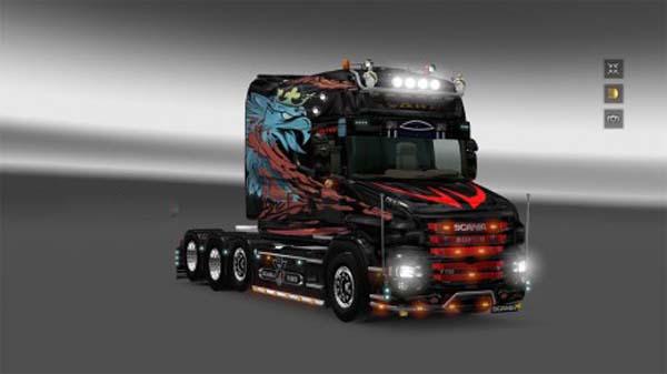 Scania T longline skin