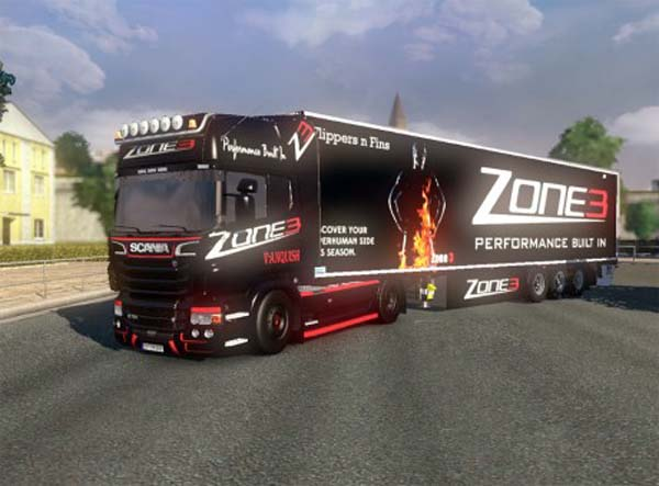 Scania Zone 3 combo pack