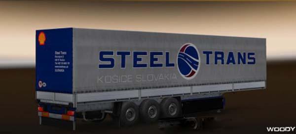 Steel Trans skin for trailer