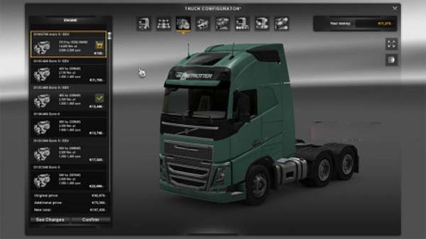 Volvo 2012 7210 HP MOE