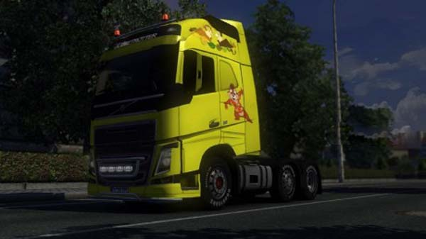 Volvo F12 Chip and Dale skin