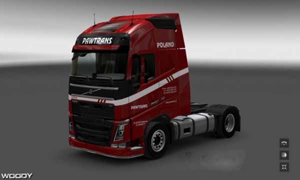 Volvo FH 2012 Pawtrans Skin
