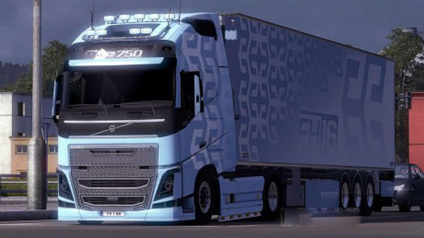 Volvo FH16 2012 Combo Pack (CandyBlue)
