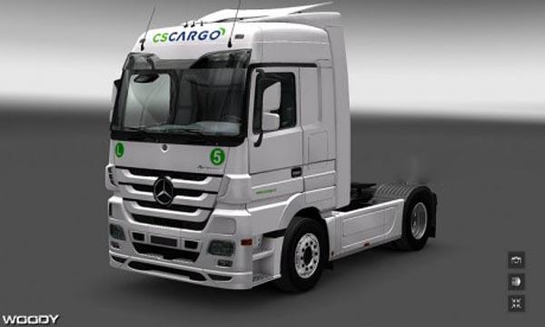 CS Cargo skin for MB Actros
