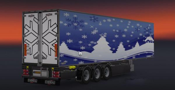 Chereau Great Cold Trailer