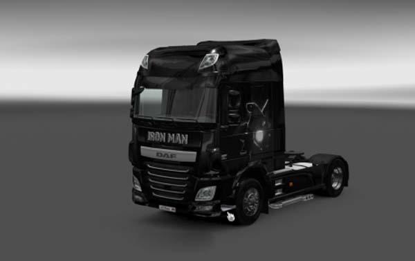 DAF XF Euro 6 Iron Man Skin
