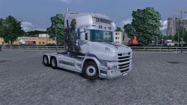 Deathstroke skin for Scania T Topline