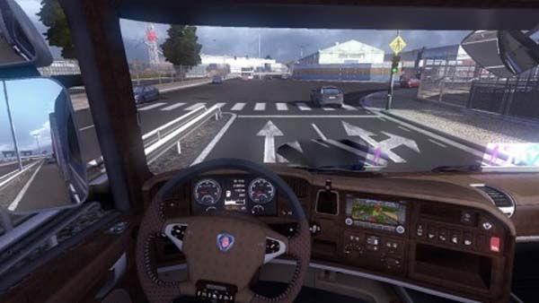 ETS 2 Scania Streamline Luxury Interior